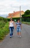 Familjdag Fotografering för Bildbyråer