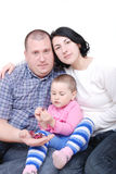 familjer Arkivfoton