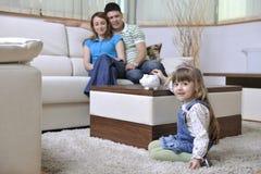 Familjfinans fotografering för bildbyråer