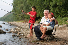 familjfiske Arkivfoton