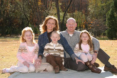 familjfoto royaltyfri foto