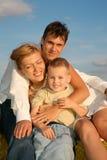 familjgräs till royaltyfria foton