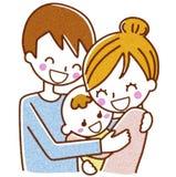 familjillustration Arkivfoton