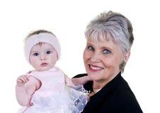 familjmormor Fotografering för Bildbyråer