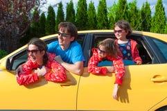 familjsemester Royaltyfria Foton