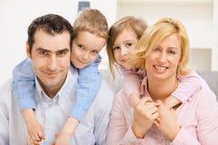 familjstående Fotografering för Bildbyråer