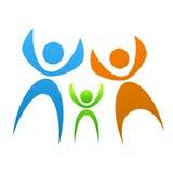 familjsymbol Arkivbild
