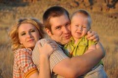 familjturbarn Arkivfoto