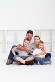 familjutgångspunkt royaltyfri bild