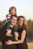 Famille à l'extérieur Image stock