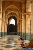 Famille à la mosquée Photos libres de droits