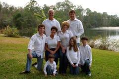 Famille étendu Images libres de droits
