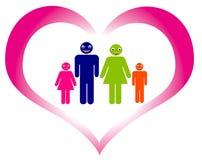 Famille 01 Images libres de droits