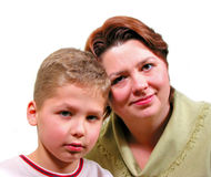Famille 2 Image libre de droits