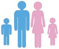 Famille Photo stock