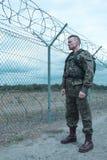 Famille absente de soldat photo libre de droits