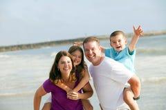 Famille affectueuse Images libres de droits