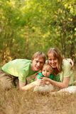Famille affectueuse Photo stock