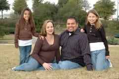 Famille affectueuse Photo libre de droits