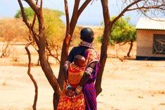 Famille africaine Images libres de droits