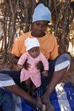 Famille africaine Photos libres de droits