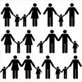 Famille alternatif Images libres de droits