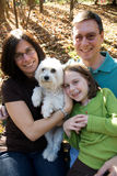Famille américain Image libre de droits