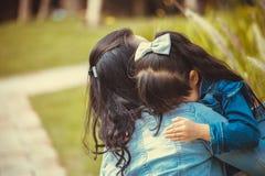 Famille, amour et personnes heureuses Photos stock
