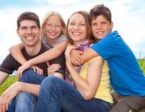 Famille-amusement 1 Image libre de droits