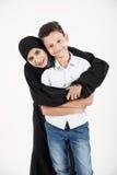 Famille arabe Image stock