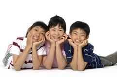 Famille asiatique Photographie stock libre de droits