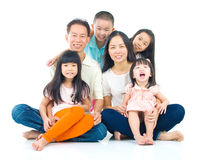 famille asiatique photos stock