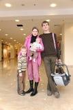 Famille avec des enfants Image stock
