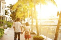 Famille ayant l'amusement en quelques vacances de vacances Images libres de droits