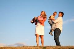 Famille d'amusement Photo libre de droits
