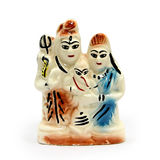 Famille d'Indien de figurine Photo stock