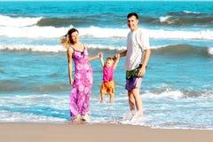 Famille de la mer Photo libre de droits