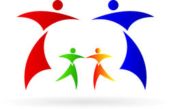 Famille de logo Photos libres de droits
