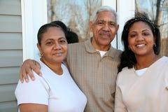 Famille de minorité Photos stock