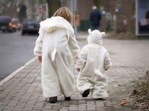 Famille de moutons Photographie stock libre de droits
