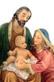 famille de plan rapproché sainte Photo libre de droits
