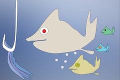 Famille de poissons Photo libre de droits