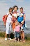 Famille de rétablissement photographie stock