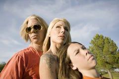 Famille de rock image stock