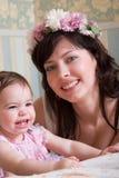 Famille de sourire Image libre de droits
