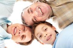 Famille de sourire Images stock