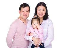 Famille de sourire heureuse photo stock
