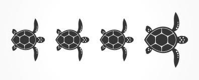 Famille de tortues Illustration de vecteur Illustration Libre de Droits