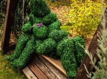 Famille des buissons vivants Photo extérieure de style de conte de fées Photo libre de droits