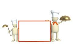Famille des cuisiniers Image stock